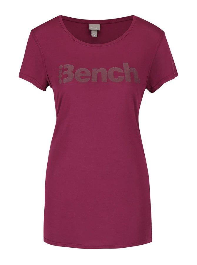 Tricou roșu închis Bench Expate pentru femei