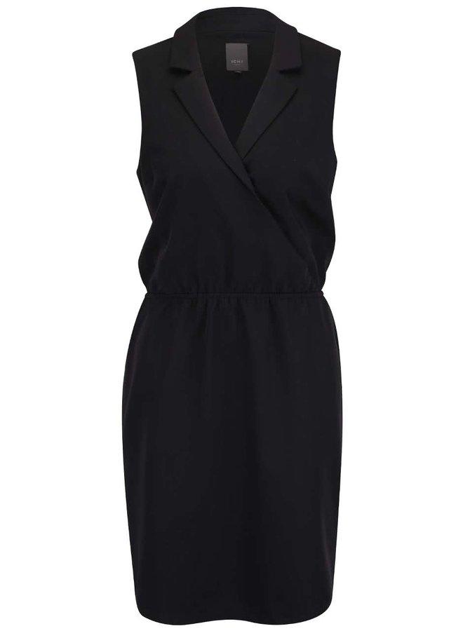 Černé šaty ICHI Jackie