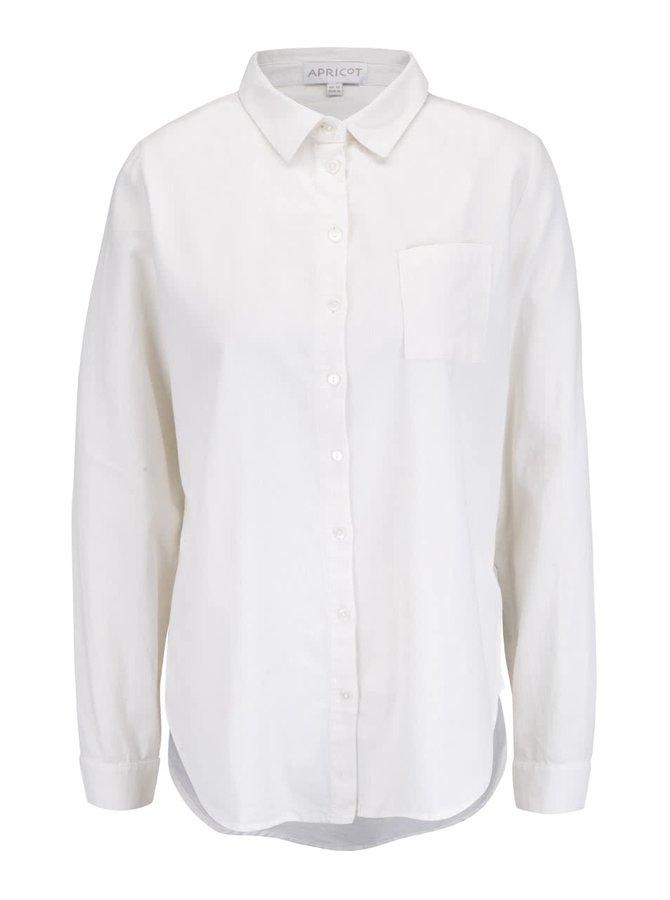 Krémová manšestrová košile Apricot