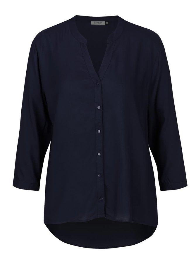 Cămașă tunică bleumarin ONLY Vera