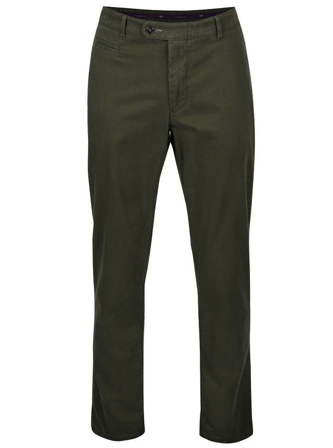 Pantaloni chino verde închis Fynch-Hatton