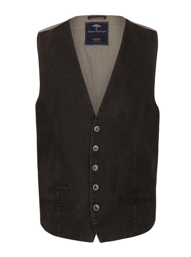 Zeleno-hnedá vesta Fynch -Hatton