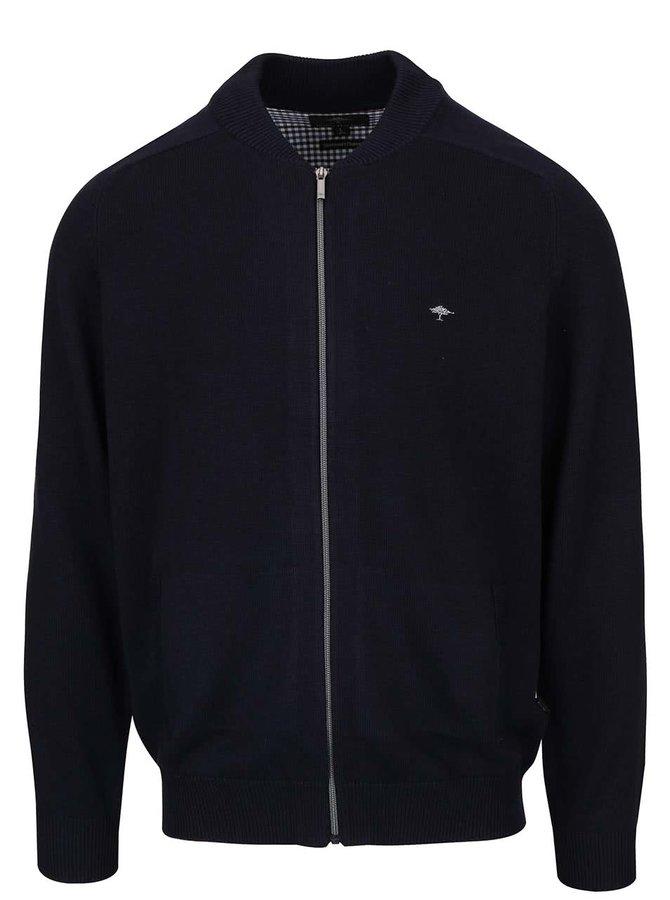 Jachetă bomber bleumarin Fynch-Hatton din bumbac
