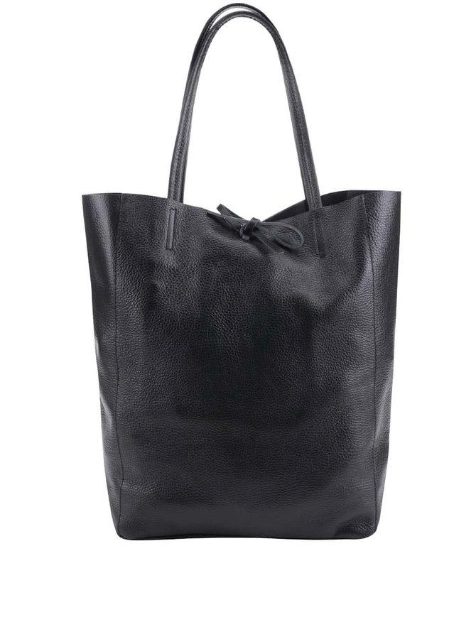Geantă shopper neagră ZOOT din piele