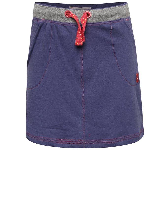 Fustă albastră 5.10.15. cu print pentru fete