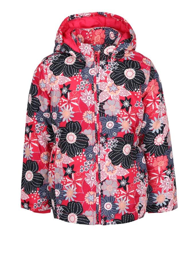 Geacă roz cu imprimeu floral name it Mello