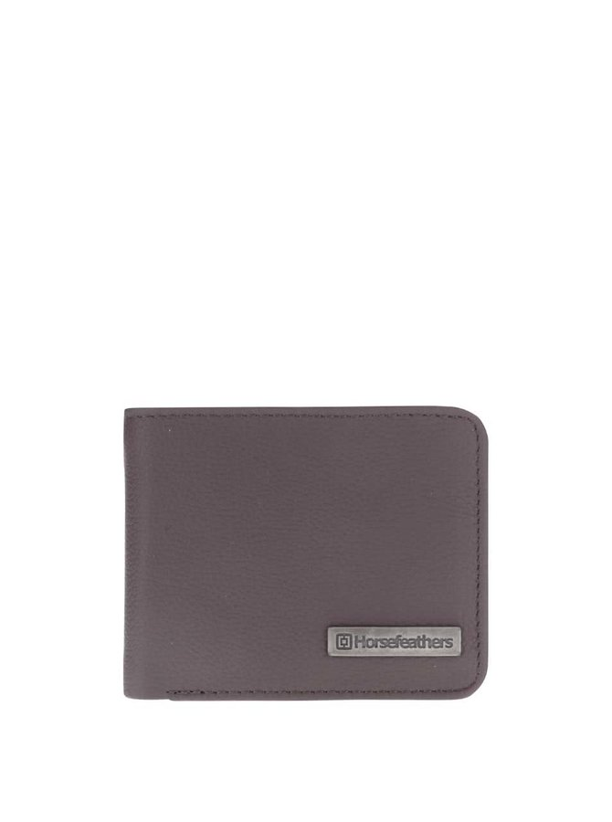Hnědá pánská kožená peněženka Horsefeathers Brad