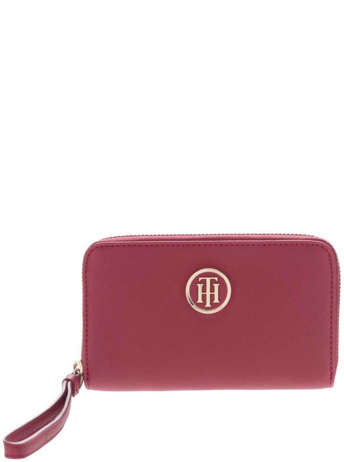 Červená peněženka s poutkem Tommy Hilfiger