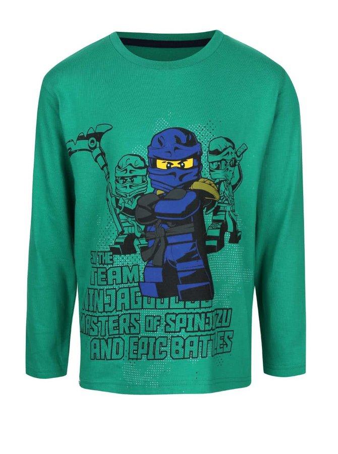 Bluză verde LEGO Wear cu imprimeu