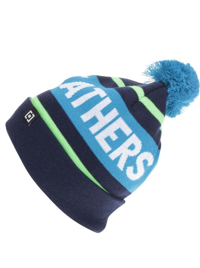 Modrá pánska čiapka s brmbolcom Horsefeathers Peyton