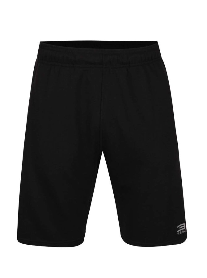 Pantaloni scurți negri Jack & Jones Tech Field