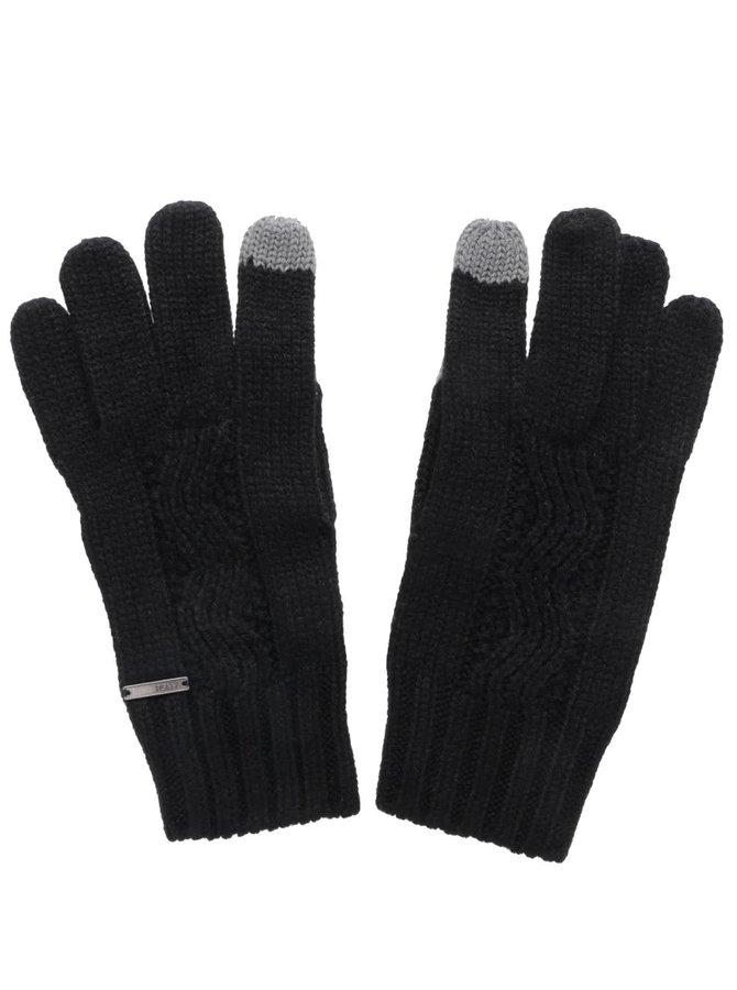 Čierne rukavice Roxy Stay