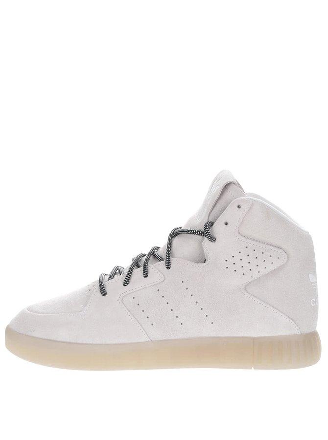 Pantofi sport crem adidas Originals Tubular Invader