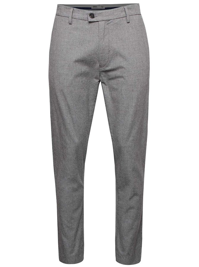 Pantaloni gri Burton Menswear London din bumbac