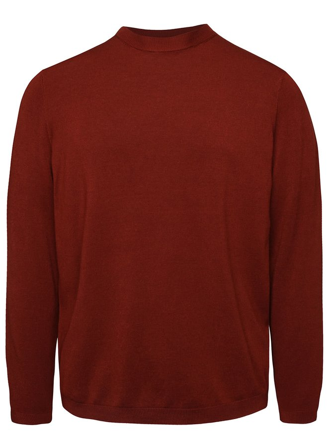 Tehlový ľahký sveter Burton Menswear London