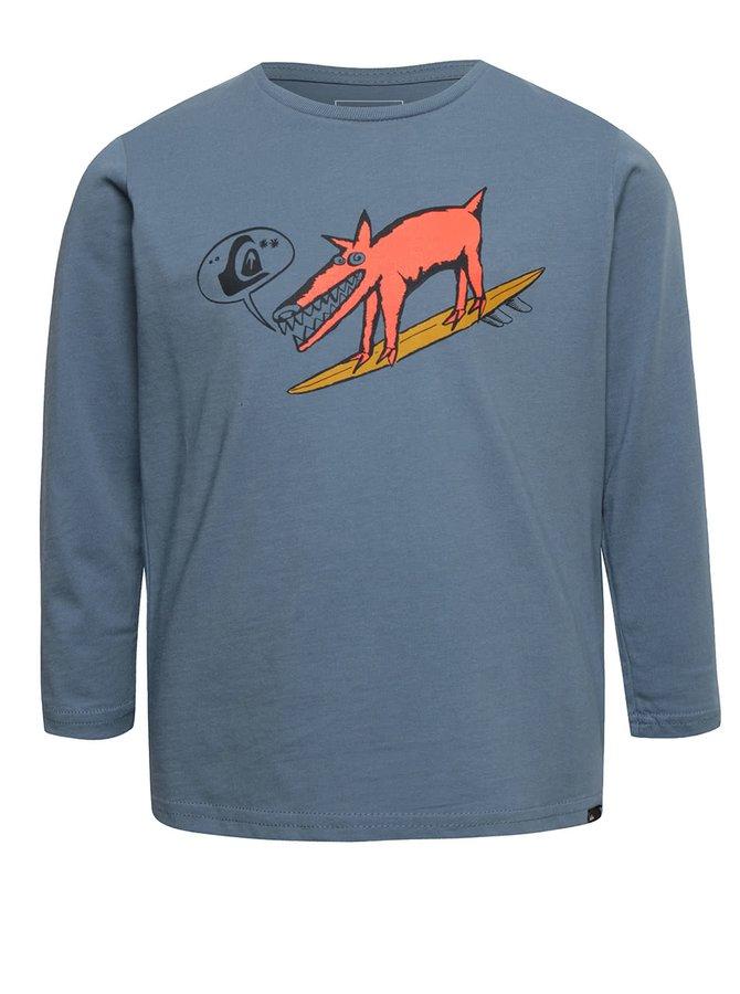 Bluză albastră Quiksilver pentru băieți