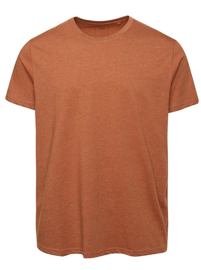 Oranžovo-hnědé triko Burton Menswear London