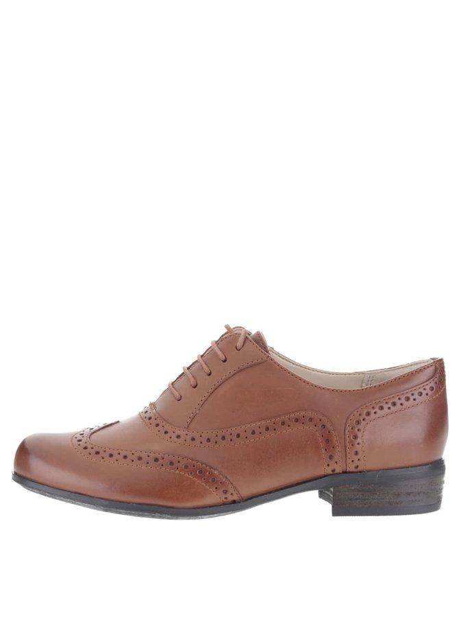 Pantofi maro Clarks Hamble pentru femei