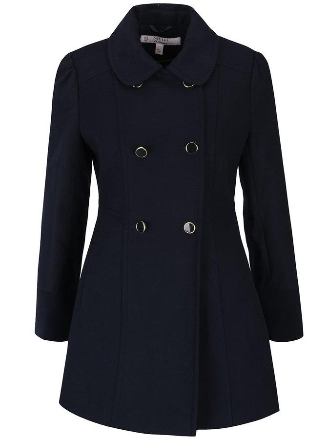 Palton albastru închis Miss Selfridge Petite