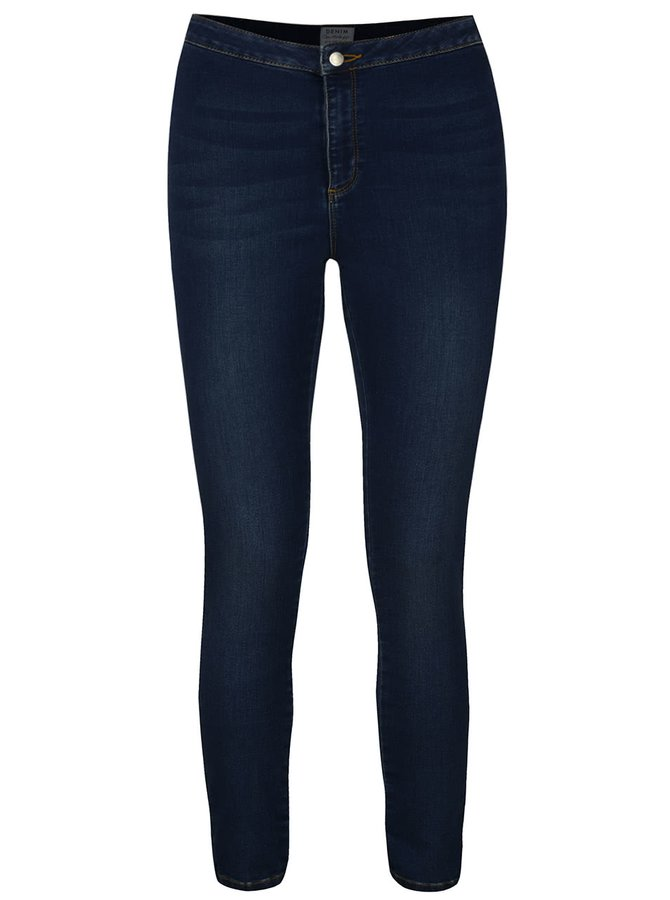Tmavomodré skinny rifle Miss Selfridge Steffi