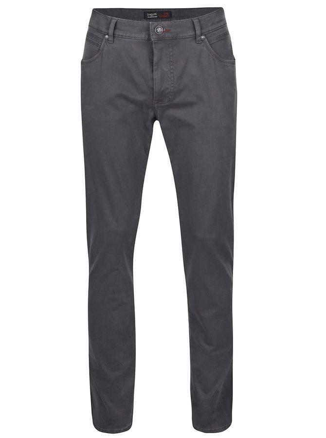 Sivé pánske nohavice bugatti