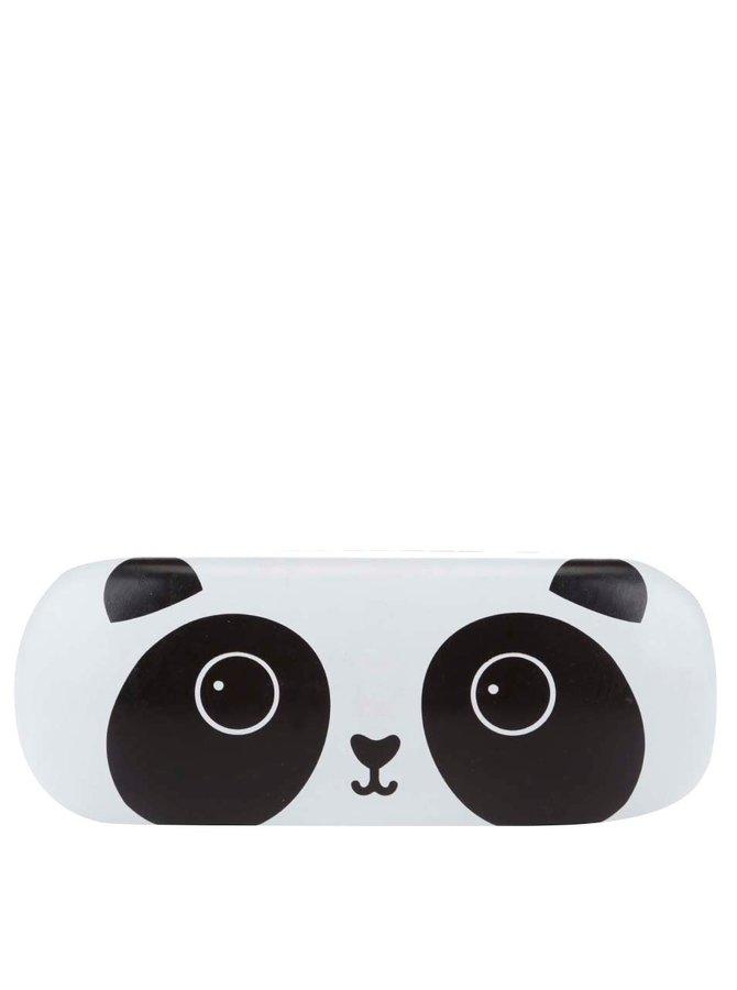 Černo-bílé pouzdro na brýle s motivem pandy Sass & Belle Kawaii Friends