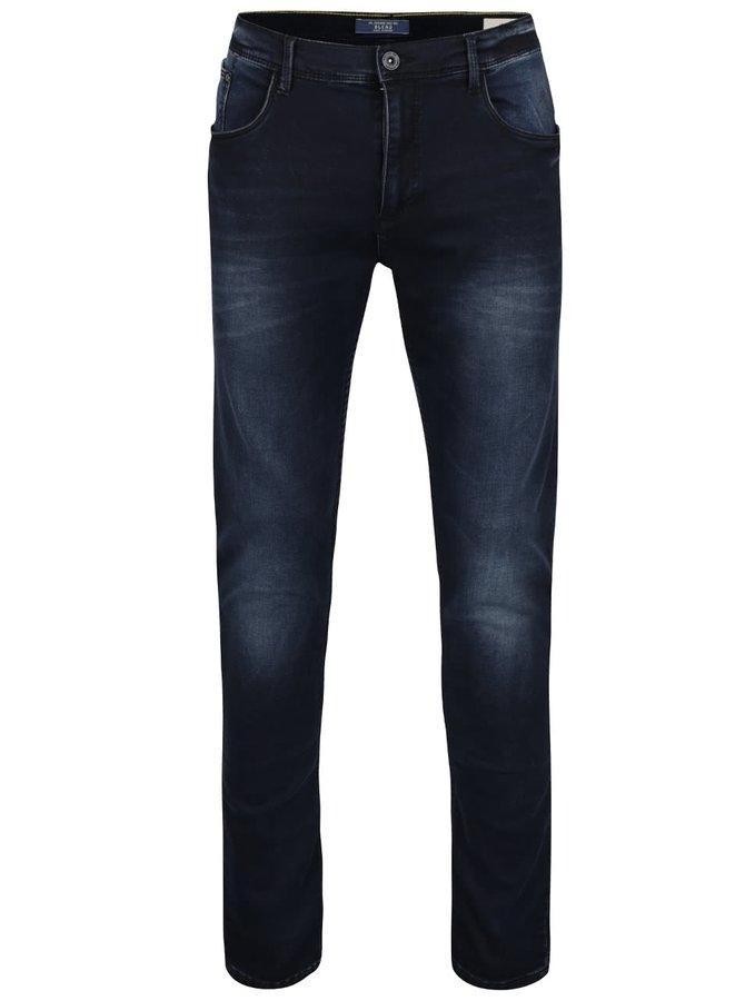 Tmavě modré džíny se sepraným efektem Blend
