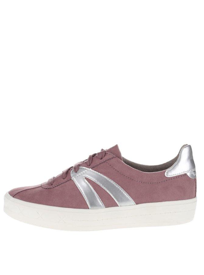 Pantofi sport Tamaris roz