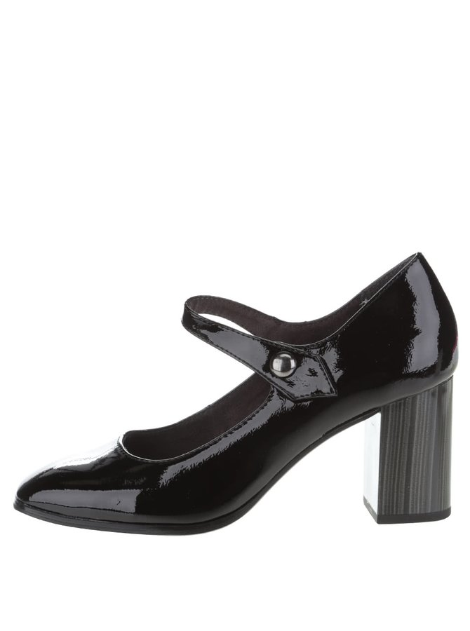 Pantofi cu toc Tamaris negri