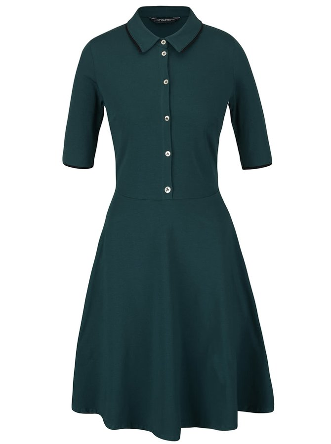 Rochie verde cu aspect 2în1 Dorothy Perkins