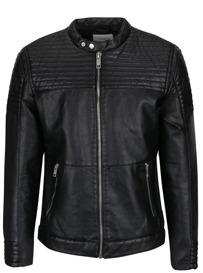 Jachetă neagră Jack & Jones Smith