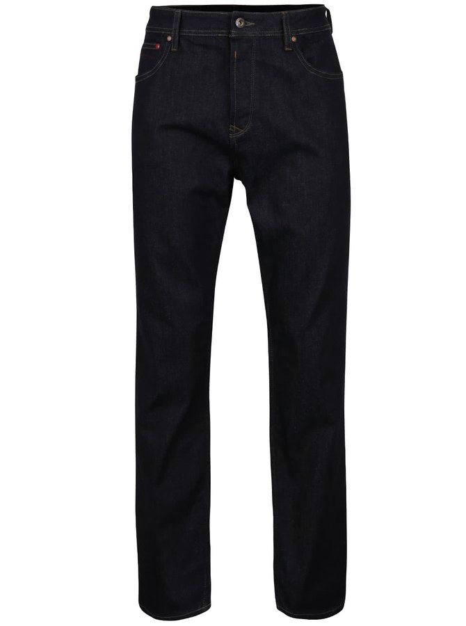 Tmavě modré strečové kalhoty Original Penguin Flannel