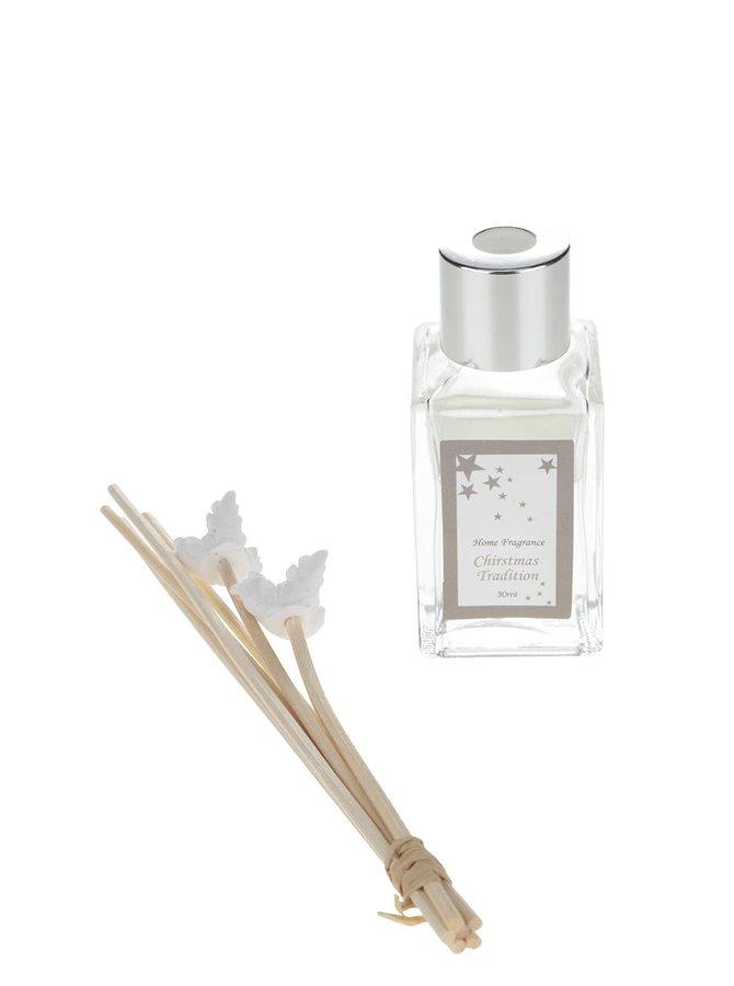 Vonné tyčinky s vůní vánoční tradice v bílé barvě Dakls
