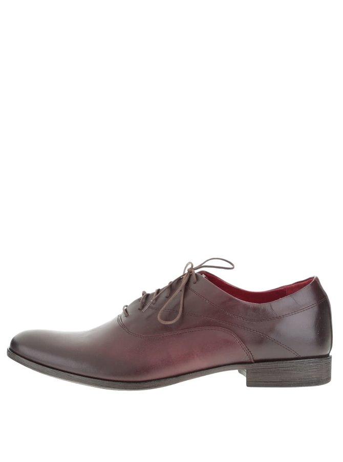 Pantofi vișiniu închis OJJU pentru bărbați