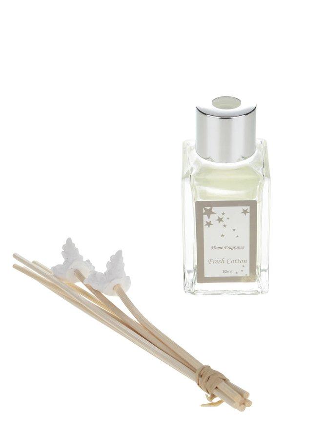 Difuzér s vůní bavlny v bílé barvě Dakls