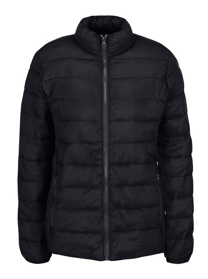 Čierna prešívaná bunda lbix b.young