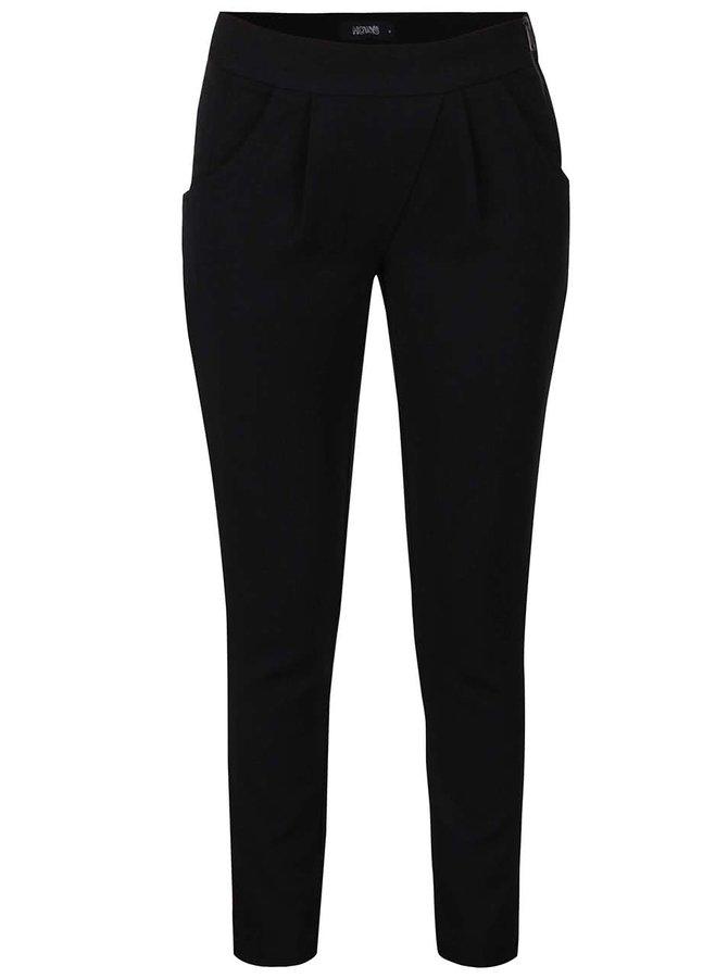 Černé volnější kalhoty s kapsami Haily´s Vanny