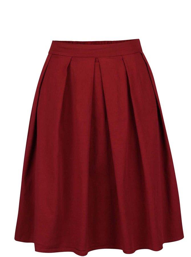 Fustă roșu burgundy ZOOT