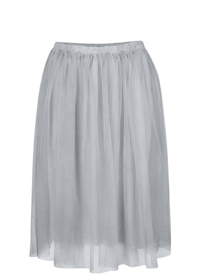 Sivá tylová sukňa ZOOT