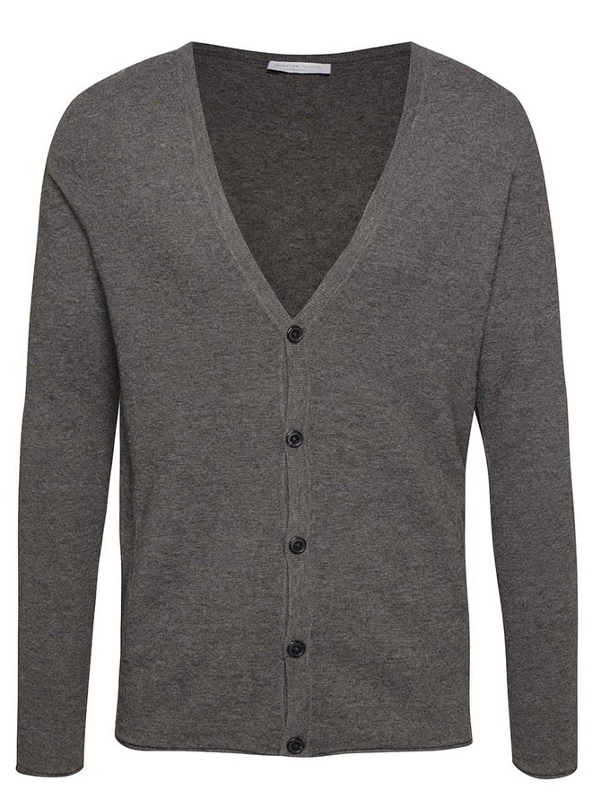 Cardigan gri Selected Homme Diowa