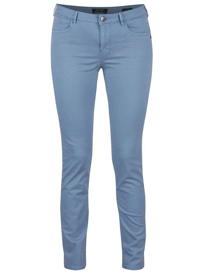 Pantaloni skinny albastru deschis Maison Scotch