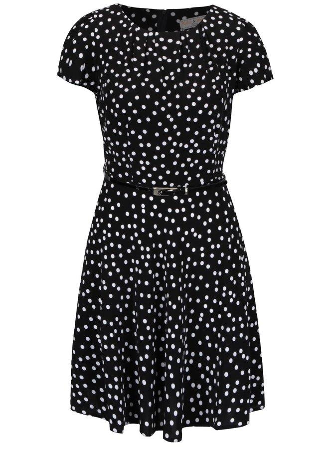Rochie neagră cu buline Dorothy Perkins