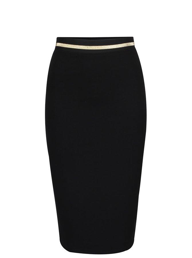 Černá přiléhavá sukně ZOOT