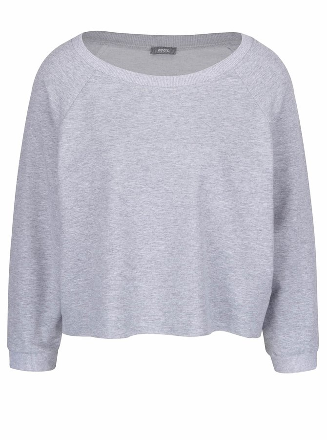 Bluză gri ZOOT scurtă