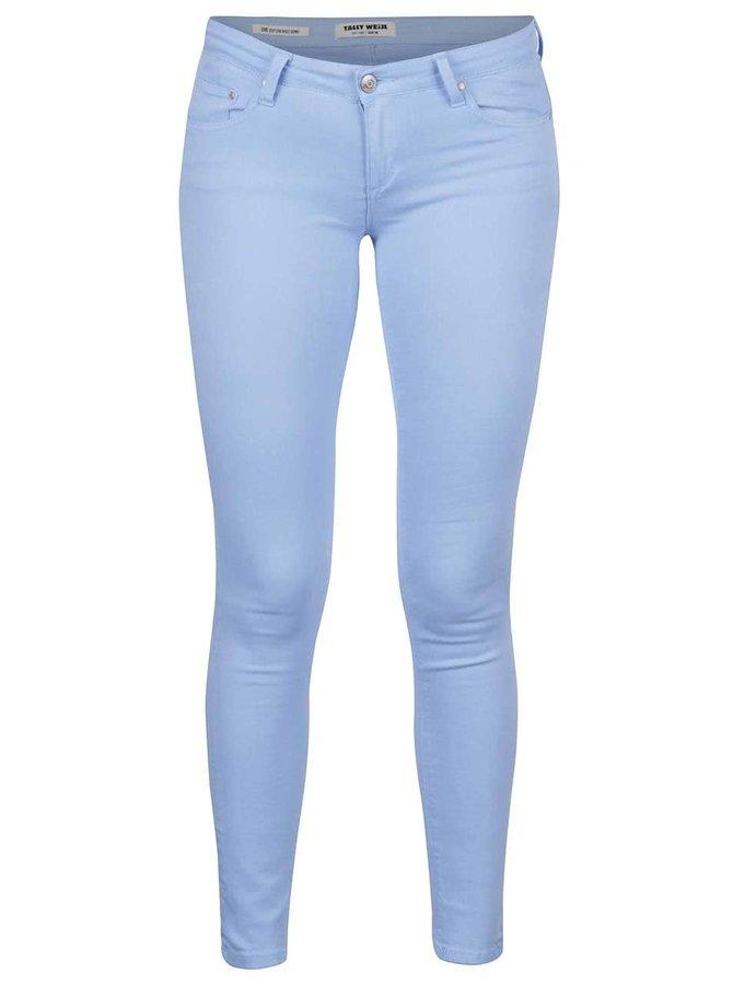 Světle modré skinny džíny s nízkým pasem TALLY WEiJL