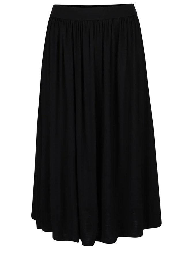 Čierna sukňa s gumou v páse Dorothy Perkins