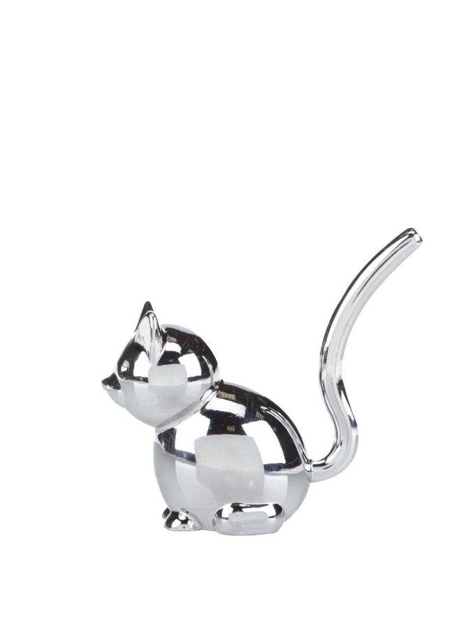 Chromovaný stojánek na šperky Umbra Zoola Cat