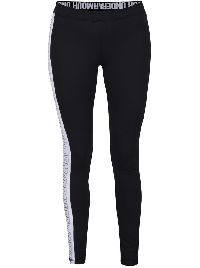 Colanți negri Under Armour Favorite Legging - Graphic