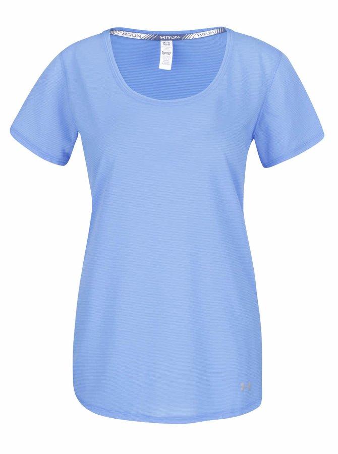 Modré dámské funkční tričko Under Armour Streaker