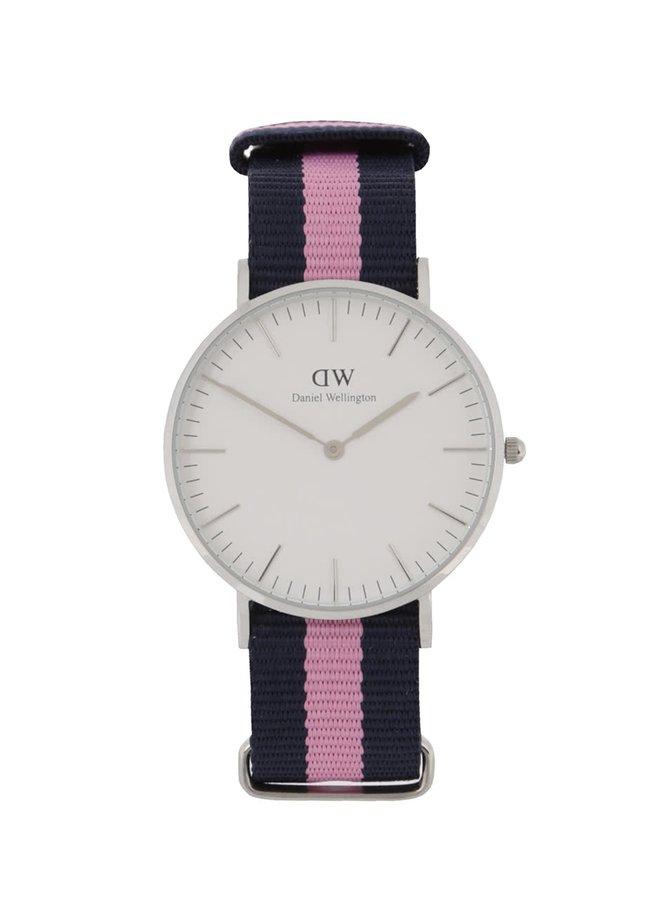 Dámské hodinky ve stříbrné barvě CLASSIC Winchester Daniel Wellington